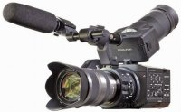 Sony NEX-FS100UK Camcorder with 18-200mm Zoom Lens