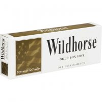 Wildhorse Gold 100's Box Cigarettes 10 cartons