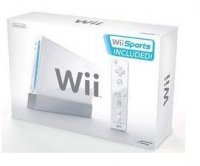 Nintendo Wii White Console with 7 games, 4 remotes, 2 Wheels etc