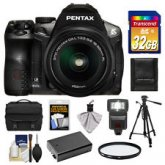 Pentax K-30 Weather Sealed Digital SLR Camera