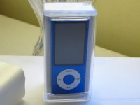 Apple iPod nano 5th Gen Blue 16 GB MP3