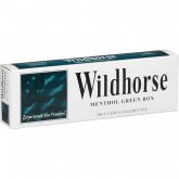 Wildhorse Menthol Green Box cigarettes 10 cartons