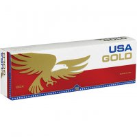 USA Gold Red King Box cigarettes 10 cartons