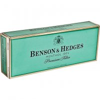 Benson & Hedges Menthol 100's Soft Pack cigarettes 10 cartons