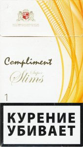 Compliment Super Slims 1 Cigarettes 10 cartons