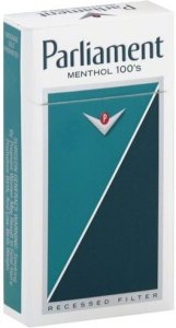 PARLIAMENT MENTHOL 100'S BOX CIGARETTES 10 CARTONS
