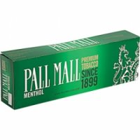 Pall Mall Menthol Kings cigarettes 10 cartons