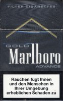 Marlboro Gold Advance Cigarettes 10 cartons