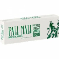 Pall Mall White King Cigarettes 10 cartons