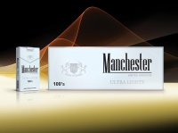 Manchester silver 100s cigarettes 10 cartons