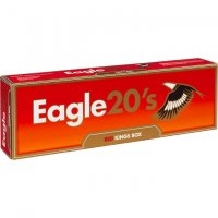 Eagle 20's Red Kings Cigarettes 10 cartons