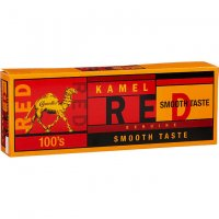 Kamel Red Smooth Taste 100's Box cigarettes 10 cartons