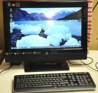 "HP 310-1020 TouchSmart AIO PC with 20"" Touchscreen"