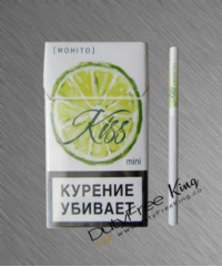Kiss Mojito Super Slim cigarettes 10 cartons
