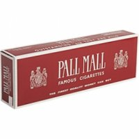 Pall Mall Non-Filter Kings cigarettes 10 cartons