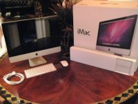 "21.5""Apple iMac 2.8ghz Quad Core i7 32GB 2TB 256GB SSD"
