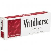 Wildhorse Red 100's Box cigarettes 10 cartons