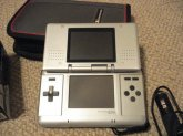 Nintendo DS Silver / Platinum Handheld System Games Accessories