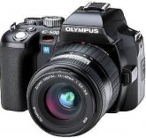 Olympus EVOLT E500 Digital SLR Camera + 14-45mm Lens