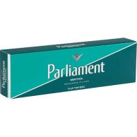 Parliament Menthol Green Pack Box cigarettes 10 cartons