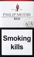 PHILIP MORRIS RED cigarettes 10 cartons
