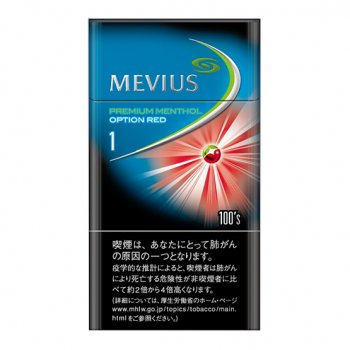 MEVIUS PREMIUM MNT OPTION RED 1 100S cigarettes 10 cartons