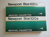 Newport Box 100s Cigarettes 4 Cartons