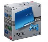 sony PlayStation 3 PS3 Console System 320GB Splash Blue