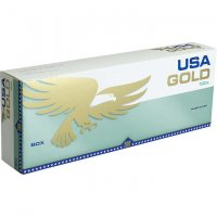 USA Gold Menthol Green 100's cigarettes 10 cartons