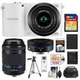 Samsung NX1000 Smart Wi-Fi Digital Camera