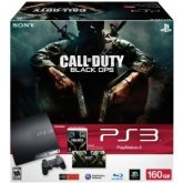 SONY PLAYSTATION 3 CALL OF DUTY: BLACK OPS BUNDLE 160 GB CONSOLE