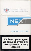 Next Azure Edition Cigarettes 10 cartons
