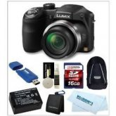 "Panasonic Lumix DMC FZ60 24x 16.1MP 3"" Digital Camera"