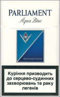 Parliament Lights (Aqua Blue) Cigarettes 10 cartons