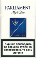 Parliament Full Flavor (Night Blue) Cigarettes 10 cartons