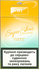 R1 Super Slims Summer Tropic 100's Cigarettes 10 cartons
