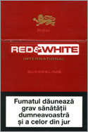 Red&White Super Slims Rich Cigarettes 10 cartons