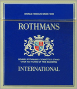 Rothmans International Cigarettes 10 cartons