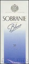 Sobranie Slims Blues 100's Cigarettes 10 cartons