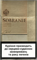 Sobranie Gold Cigarettes 10 cartons