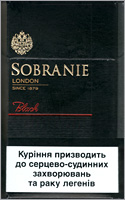 Sobranie Black Cigarettes 10 cartons