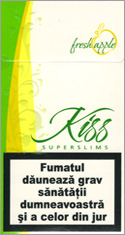Kiss Super Slims Fresh Apple 100's Cigarettes 10 cartons