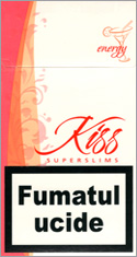 Kiss Super Slims Energy 100's Cigarettes 10 cartons