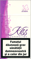 Kiss Super Slims Dream 100's Cigarettes 10 cartons
