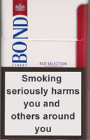 BOND STREET SMART RED 8 cigarettes 10 cartons