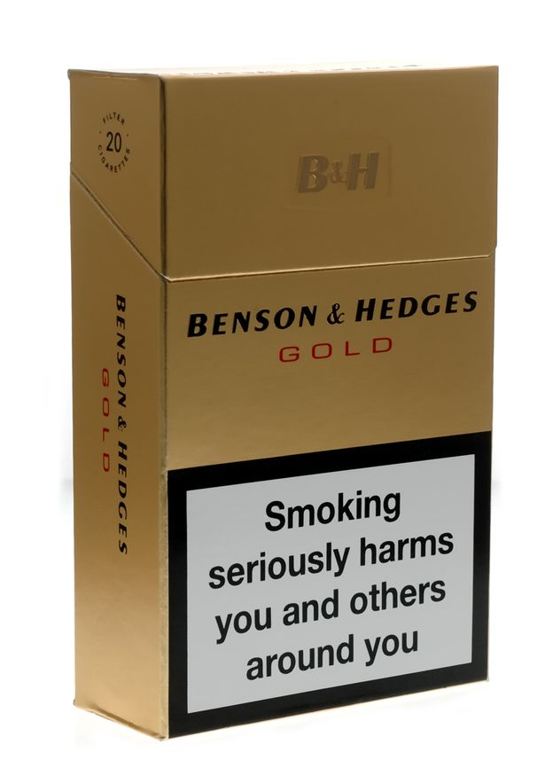 Benson & Hedges gold cigarettes 10 cartons