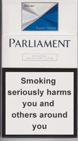Parliament Super Slims Silver Cigarettes 10 cartons