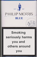 PHILIP MORRIS BLUE cigarettes 10 cartons