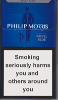 Philip Morris Novel Blue cigarettes 10 cartons