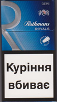 ROTHMANS DEMI ROYALS SILVER CIGARETTES 10 CARTONS